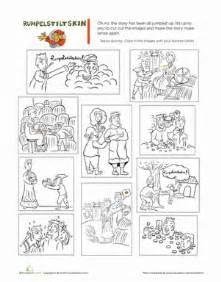 rumpelstiltskin story worksheet education
