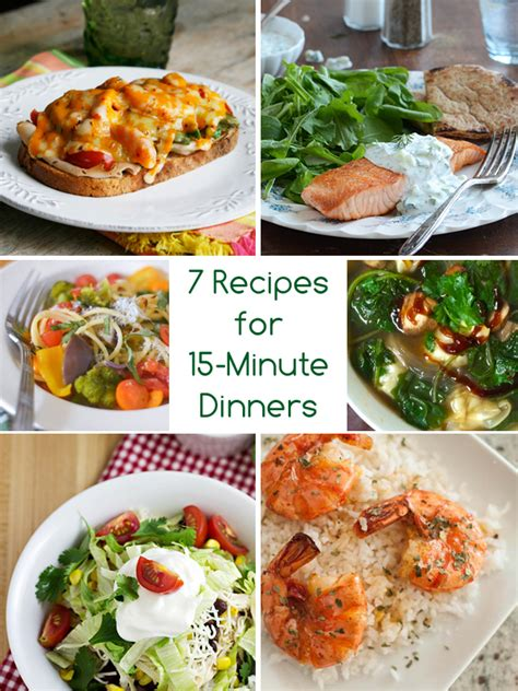 dinner in a flash 7 recipes for 15 minute dinners - Dinner Recipes For 15
