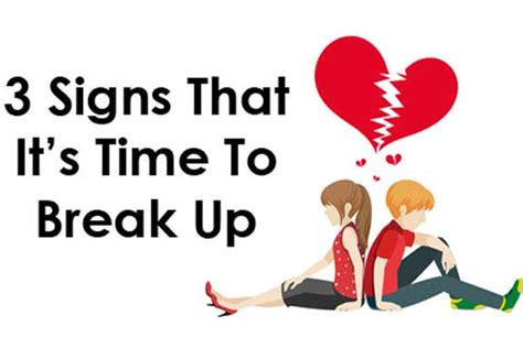 13 Signs Its Time To Breakup by 3 Signs That It S Time To Up Womenworking
