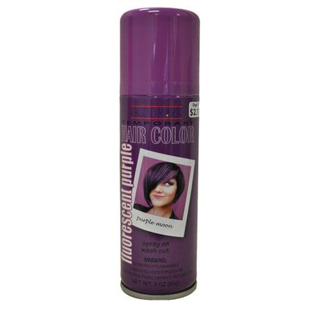 purple temporary hair color goodmark temporary hair color spray purple walmart