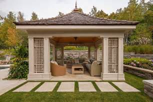 covered gazebos for patios free standing gazebo landscape traditional with covered