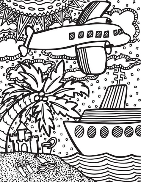 abstract summer coloring pages abstract doodles summertime freebies abstract doodles