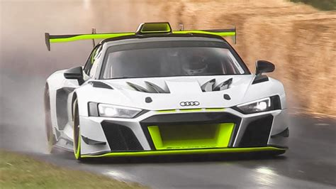 audi  lms gt unveiled sound accelerations