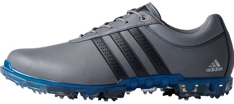 adidas adipure flex golf shoes grey blue discount prices for golf equipment