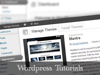 wordpress nirvana tutorial how to hide the wordpress admin bar cryout creations