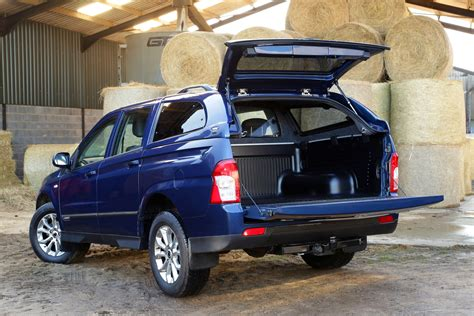 ssangyong korando sports pick ups got it covered commercial vehicle dealer