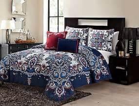 navy paisley bedding navy paisley comforter set bedding king size bed decor