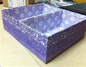 diy easy cardboard drawer divider storage box home diy