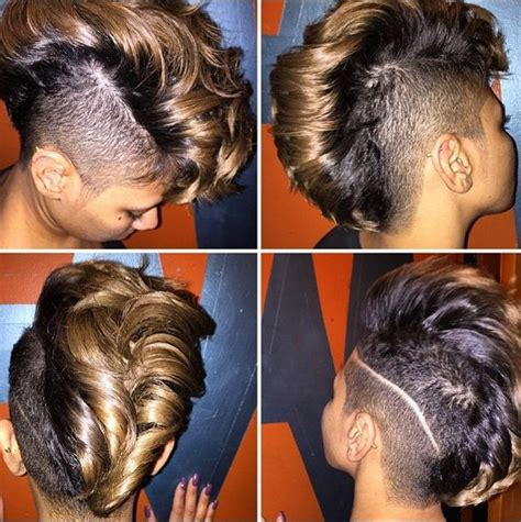 shaved sides long top extensions 57 best images about shaved side undercut on pinterest