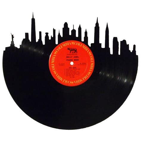 New York City Records Search New York City Skyline Vinyl Record Records Redone