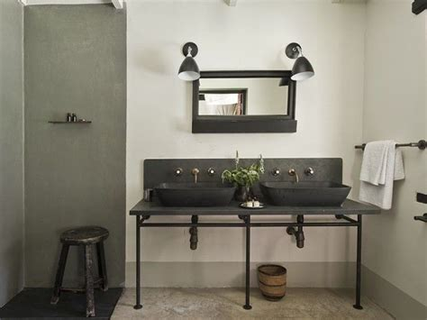 rustic industrial bathroom talentneeds