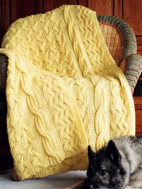 reversible afghan knitting pattern cable afghan knitting patterns in the loop knitting