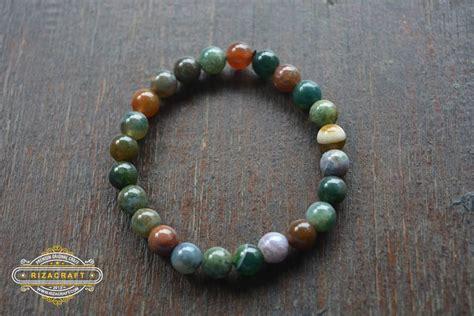 Jual Gelang Dari Batu Akik gelang batu akik wanita indian agate 171 jual gelang tasbih