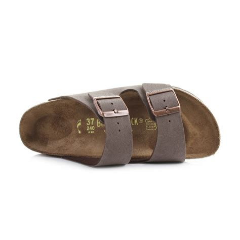 Sandal Wanita New Chaty Heel Sandals Brown Mocca Hr01 mens birkenstock arizona mocca brown comfort two sandals standard uk size ebay