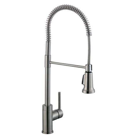 Glacier Bay Pull Down Kitchen Faucet by Glacier Bay 1 200 Series Pull Down Sprayer Kitchen Faucet