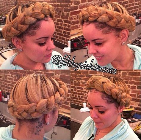 crown goddess braids goddess crown braid her hair is laid pinterest