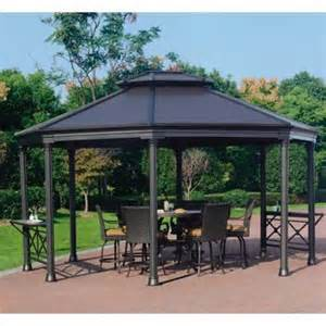 Costco Octagon Hardtop Gazebo by Costco Patio Covers Gazebos Submited Images