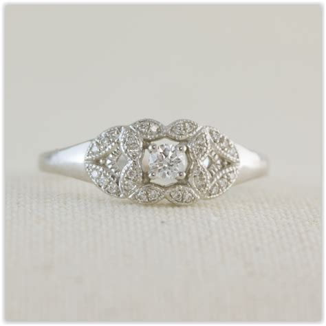 Antique Style Engagement Rings by Antique Style Engagement Ring Specialists In Custom Made
