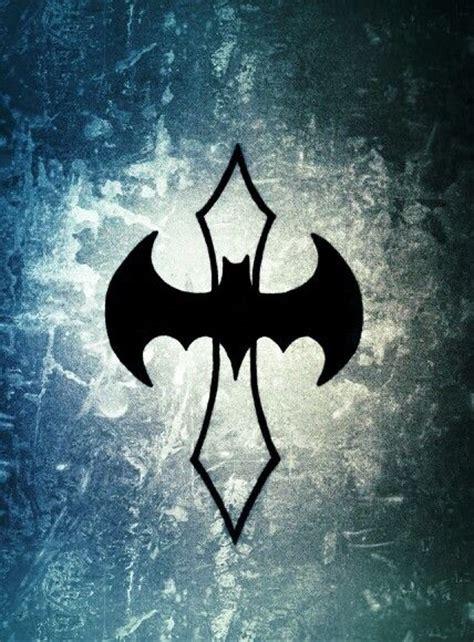 Batman Cross Tattoo | batman cross tattoo tattoo ideas pinterest cross