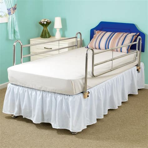 bed safety rails bed safety rails cot sides for hospital type metal bed