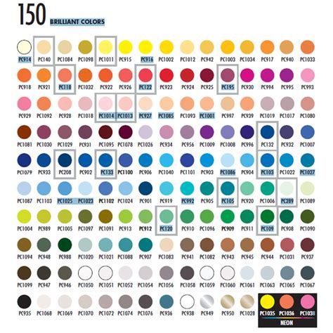 prismacolor color chart the gallery for gt prismacolor colored pencils color chart