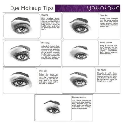 8 Makeup Tips For The Heat by Tips And Tricks For Every Eye Shape Find The Products At
