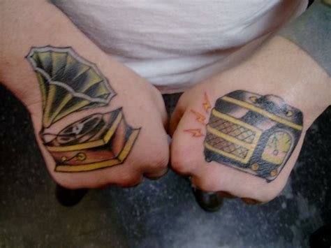 stereo tattoo designs 42 best vinyl ink images on