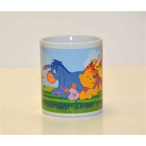 Mug Winnie The Pooh Mini Kuning vintage disney winnie the pooh coffee mug