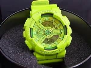 Casio G Shock Ga 110b 4 Original Harga Reseller casio g shock ga 110b hyper color lime green ga 110b