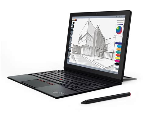 Laptop Tablet Lenovo lenovo announces the thinkpad x1 tablet a modular 2 in 1