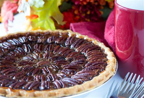 bourbon chocolate pecan pie  plate  home