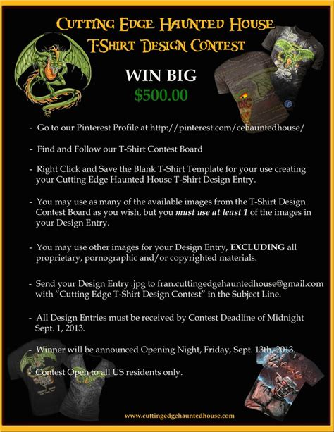 t shirt design contest rules 1000 images about halloween events and haunted houses on