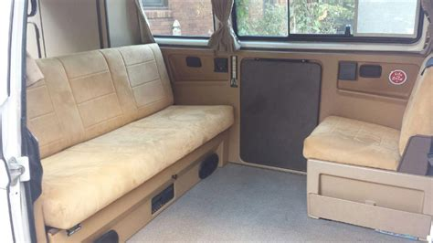 westfalia volkswagen interior 1986 vw vanagon westfalia weekender auction in des