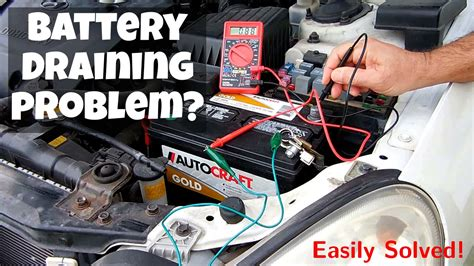 boat battery keeps draining easily identify vehicle battery draining problems