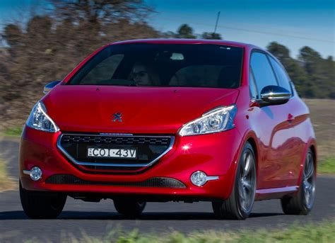 peugeot number peugeot 208 gti available in limited numbers