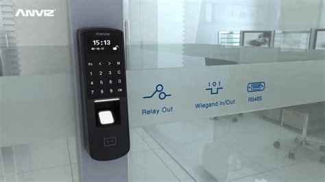 Anviz P7 Fingerprint p7 poe touch fingerprint and rfid access