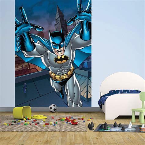 batman wall mural 1 wall easy hang wallpaper mural batman portrait comic 1 58m x 2 32m