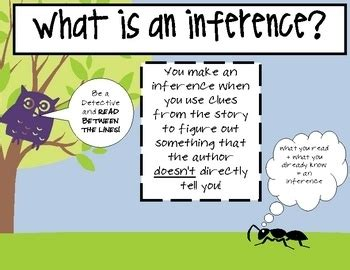 exle of inference inference poster free printable