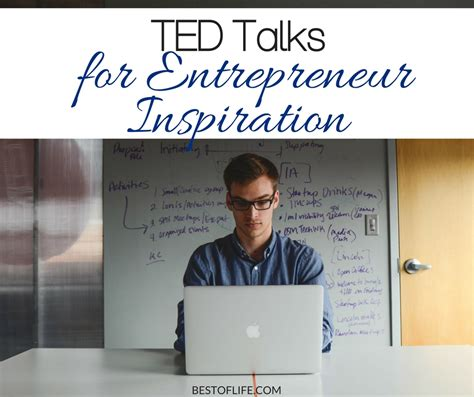 best ted talks for 85 ted talks for entrepreneur inspiration the best of