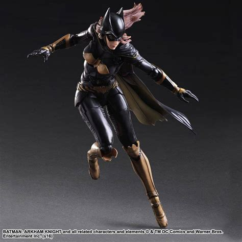 batman arkham batgirl play arts figure