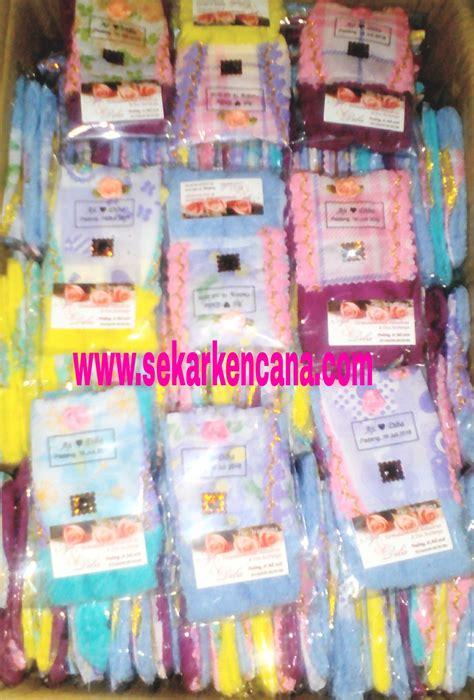 Souvenir Handuk Handmade souvenir towel sekar kencana