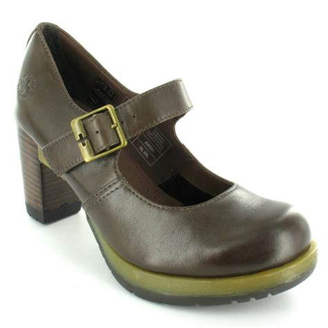 dr martens high heels dr martens marlena womens high heel janes brown ebay