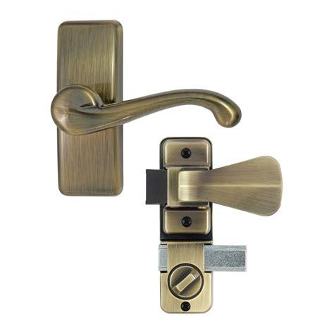 Screen Door Handles Lowes by Ideal Security Hk357db05 Deluxe And Screen Door