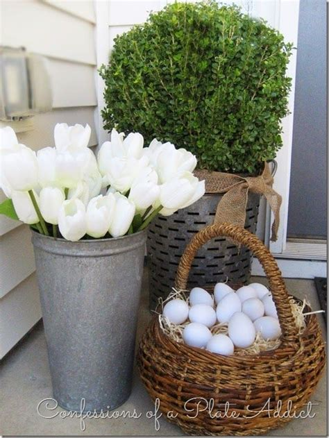 easter backyard decorations 122 best easter outdoor decor images on pinterest easter ideas easter decor and easter