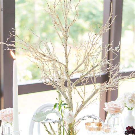 white branch centerpieces 25 best ideas about tree branch centerpieces on
