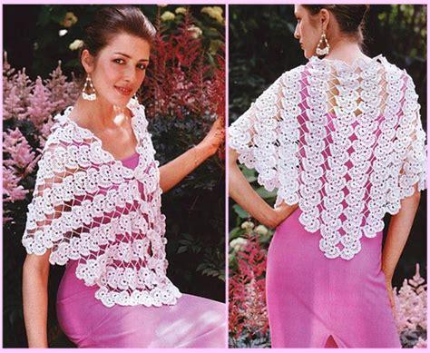 Pashmina Pop Motif 12 Lace Fan Motif Shawl Crochet Pattern Crochet Kingdom