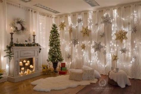 cortinas con luces dise 241 os de cortinas de luces navide 241 as para decorar
