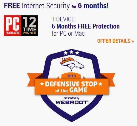 Webroot Giveaway - webroot internet security 6 months