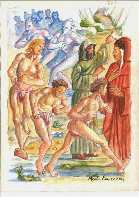 cornici purgatorio urli di colore il purgatorio di dante un viaggio