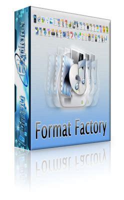 format factory para que sirve formatfactory 1 65 convierte cualquier archivo multimedia